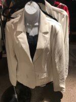 $49.00 SALE European designed faux leather in cream - stunning!
